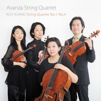 Avanza String Quartet | Koji Asano: String Quartet No.1-No.4