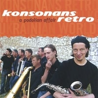Album cover for Konsonans Retro's A Podolian Affair