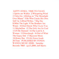 Lefty Jones Band | Time To Clean