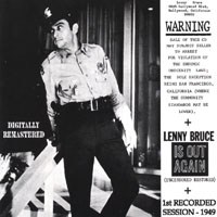 Capa de Warning Lenny Bruce Is Out Again