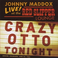 Johnny Maddox | Live! at the Red Slipper Lounge