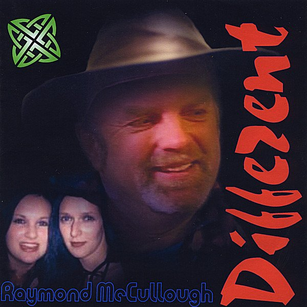 Raymond McCullough's new album, 'Different', out NOW!!