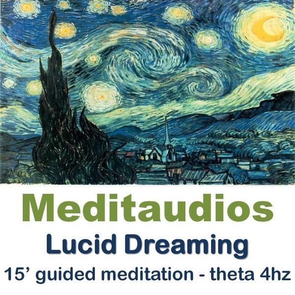 Meditaudios | Lucid Dreaming (15' Guided Meditation - Theta 4hz