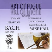 Mike Hall | Art of Fugue compact disc