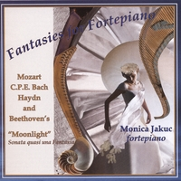 Monica Jakuc | Fantasies for Fortepiano