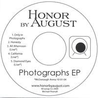 HONOR BY AUGUST: Photographs EP