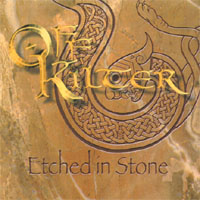 Skivomslag för Etched in Stone