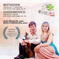 Oleg Bezuglov: Beethoven and Shostakovich Violin Sonatas