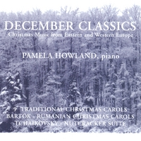 pamela howland december classics christmas music from eastern and western europe - Christmas Music Classics