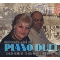 Marina Porchkhidze & Vladimir Shinov | Music of American Composers for Piano Duet, Little Anthology