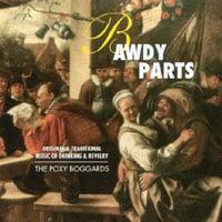 Skivomslag för Bawdy Parts