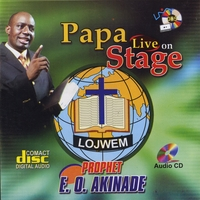 Prophet E O Akinade | Papa Live On Stage | CD Baby Music Store