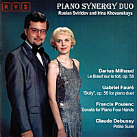 Piano Synergy Duo (Ruslan Sviridov And Irina Khovanskaya) | Music of French Composers