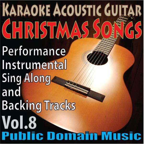 Karaoke Christmas Musical.Public Domain Music Karaoke Acoustic Guitar Christmas