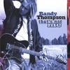 Randy Thompson: That