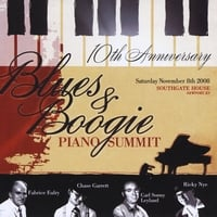 Ricky Nye | Tenth Anniversary Blues & Boogie Piano Summit