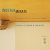 Rodger Coleman: Indeterminate (Improvisations for Piano and Drums)