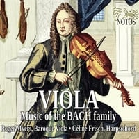Roger Myers & Céline Frisch | Viola Music of the Bach Family