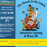 The Slouch In The Couch Childrens Corner Band | Interactive Learning & Music CD - Adventure #1