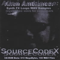 SOURCECODEX: Royalty Free: Alien Ambience, Vol. 1