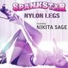 Spankstar: Nylon Legs