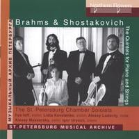 St.Petersburg Chamber Soloists | Brahms & Shostakovich Piano Quintets