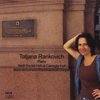 Tatjana Rankovich | Weill Recital Hall at Carnegie Hall
