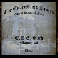 The Cyberbass Project | C.P.E. Bach: Magnificat (Bass)