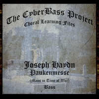 The Cyberbass Project | Joseph Haydn: Mass in Time of War (Paukenmesse) Hob. Xxii:9 (Bass)
