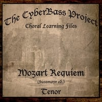 The Cyberbass Project | Mozart Requiem in D Minor (Sussmayr Ed.)  - Tenor