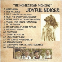 The Homestead Pickers | Joyful Noises