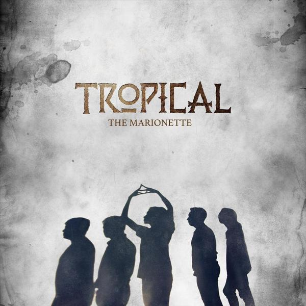 tropical photo album