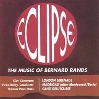 Thomas Paul, Basso | ECLIPSE - Music of Bernard Rands