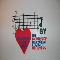 The North Side Billy Goat Loving! Believers | Bleeding Cubby Blue