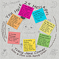 Tracy Jane Comer | You Have 29 Messages