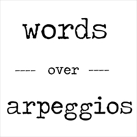 Two Headed Puppy | Words Over Arpeggios