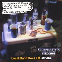 Album cover for Local Band does OKlahoma