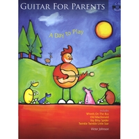 Victor Johnson: Guitar for Parents Book and CD