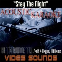 Vides Sounds | Stay the Night (Acoustic Karaoke Version) [Tribute to
