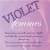violet femmes (various artists): violet femmes vol 1