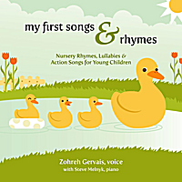 Zohreh Gervais | My First Songs & Rhymes: Nursery Rhymes, Lullabies & Action Songs for Young Children
